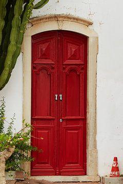 rode deur van Bart Colson