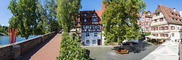 Oude binnenstad van Ulm van Walter G. Allgöwer