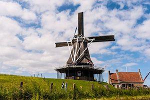 Windmill in Medemblik Holland