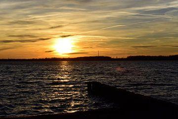 Sonnenuntergang im Wind von Marcel Ethner