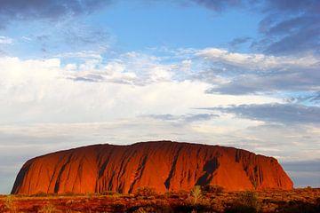 Abend am Uluru, Outback, Australien | Reisefotografie von Inge Hogenbijl