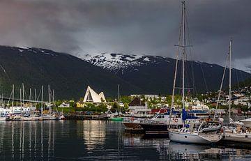 IJszeekathedraal, Tromsø, Noorwegen van Adelheid Smitt