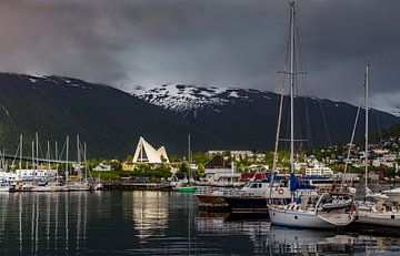 Eismeer-Kathedrale, Tromsø, Norwegen von Adelheid Smitt