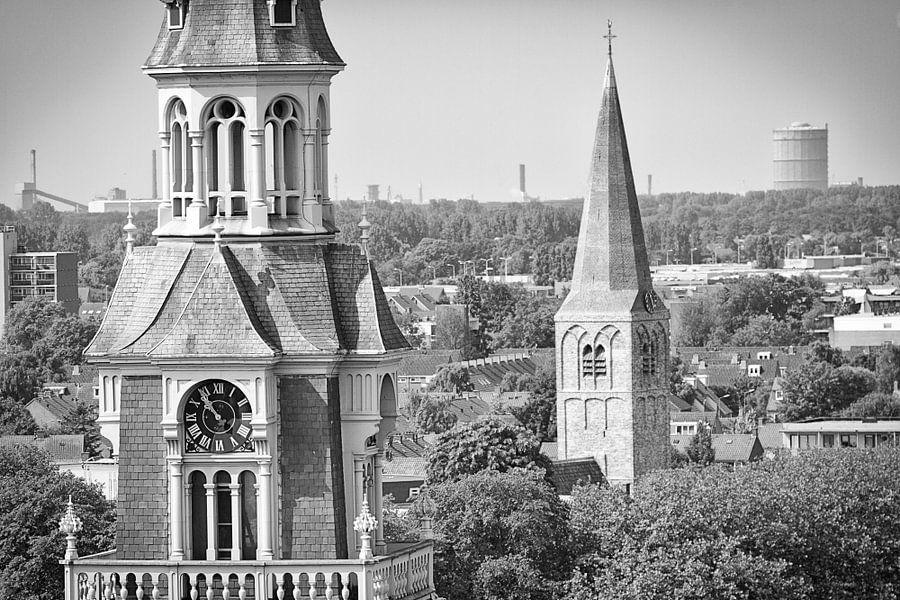 Laurentius kerk en hervormde kerk Heemskerk