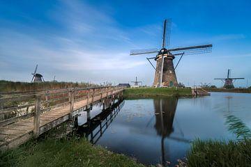 Kinderdijk, windmolen Nederwaard nr. 5 van