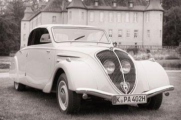 Peugeot 402 Eclipse 1934 klassieke cabriolet auto van Sjoerd van der Wal