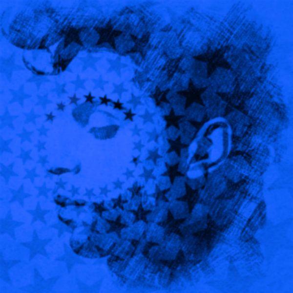 Prince blue Pop Art PUR van Felix von Altersheim