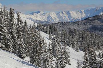 Ski gebied von Jeroen Meeuwsen