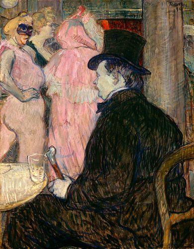 Maxime Dethomas, Henri de Toulouse-Lautrec von Liszt Collection
