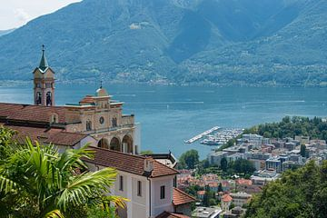 Kirche Madonna Del Sasso, Locarno, Schweiz sur Peter Apers
