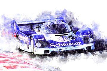 Porsche, Stefan Bellof von Theodor Decker