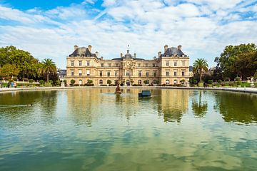 View to the Jardin du Luxembourg in Paris, France van Rico Ködder