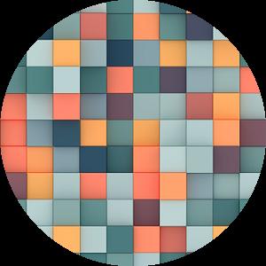 Kleurrijke 3D vierkanten van Jörg Hausmann