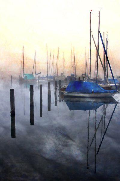 Harbour of lights  sur Sandra Akkerman