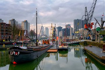 Rotterdam Leuvehaven von Rob Hogeslag