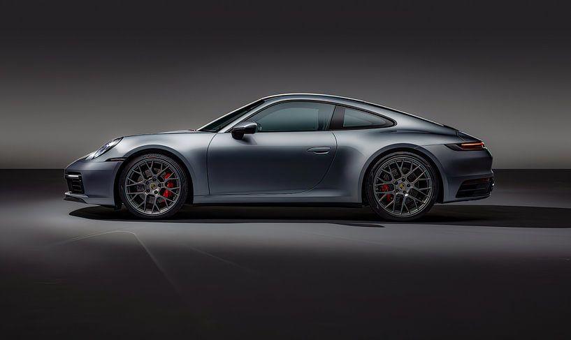 Porsche 911 Carrera 4S, voiture de sport. sur Gert Hilbink