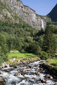 Feigumfossen waterval Noorwegen