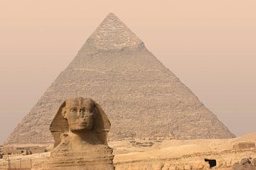 Piramide en Sfinx van Achim Prill