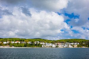 Blick auf Sassnitz auf der Insel Rügen
