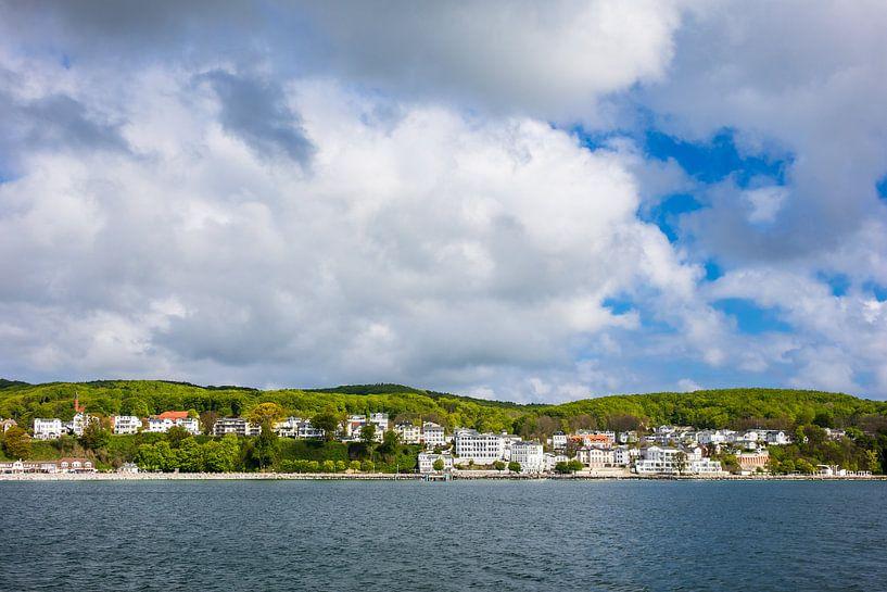 Blick auf Sassnitz auf der Insel Rügen von Rico Ködder