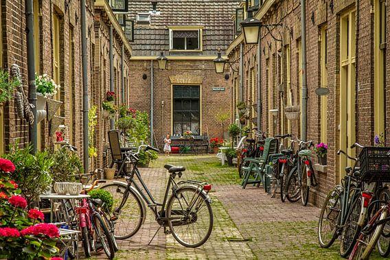 Een engeltje in de Moutstraat in Utrecht