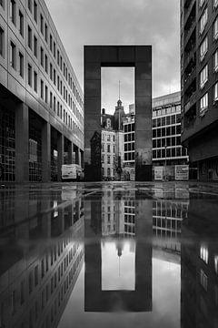 Straatfoto Rotterdam van Remco-Daniël Gielen Photography