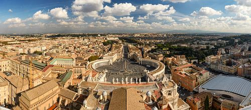 Rome en Vaticaan panorama van