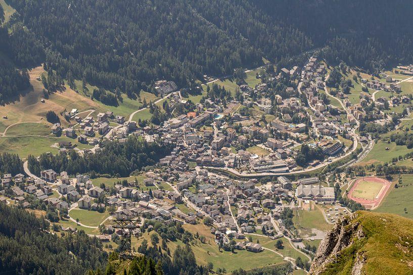 Erlebnisbad von oben von Sander de Jong