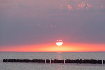 Sonnenuntergang an der Ostsee von Stephan Schulz