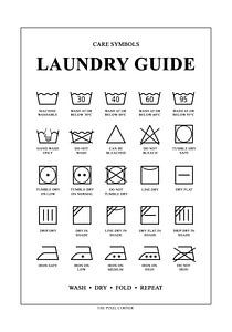 Laundry Guide van The Pixel Corner