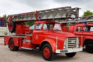 Historische DAF brandweerwagen van Bert Meijerink