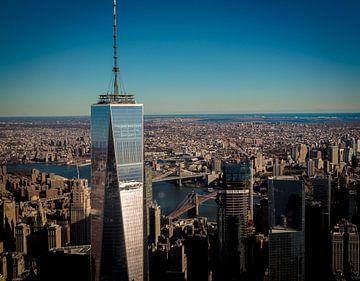Freedom Tower, One World Trade Center, New York van Maarten Egas Reparaz
