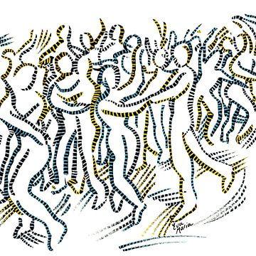 Feest van verbinding van Eva van den Hamsvoort