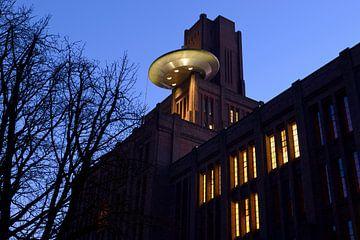 De Inktpot met de UFO in Utrecht sur Donker Utrecht