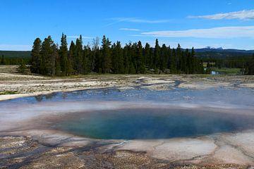 Warmwaterbronnen landschap van Christiane Schulze