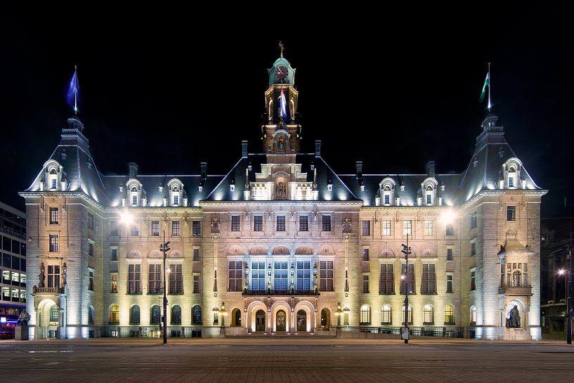Stadhuis Rotterdam van Anton de Zeeuw