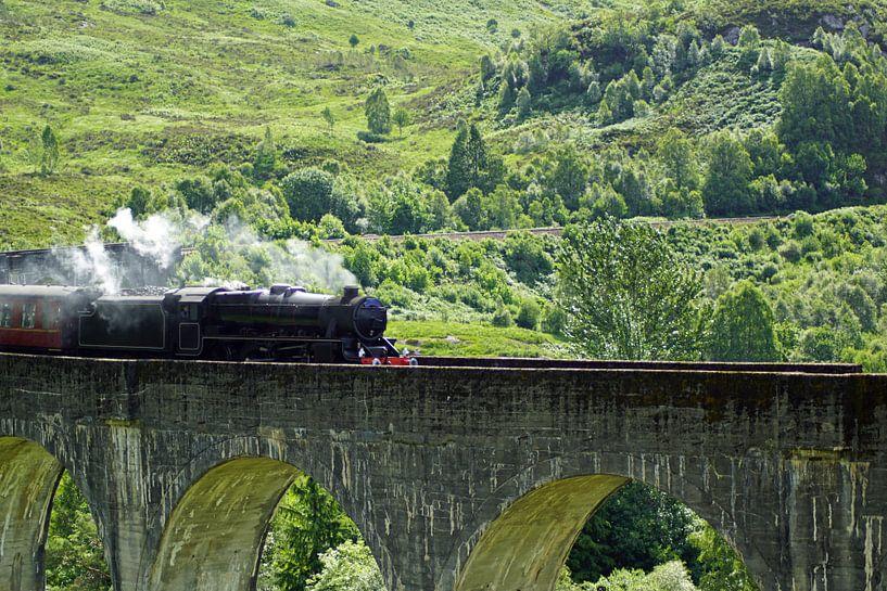 Glenfinnan-viaduct van Babetts Bildergalerie