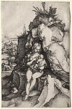 De boete van sint Johannes Chrysostomus, Albrecht Dürer van De Canon