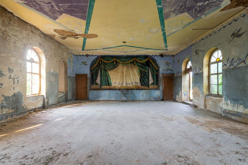 verlassener Tanzsaal von Kristof Ven