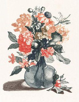 Bloemen in een vaas, Johan Teyler