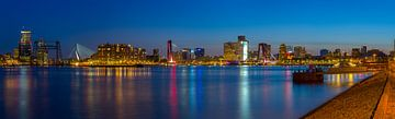 Panorama Rotterdam van Patrick Blom