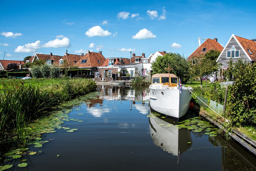 Pittoresk IJlst in Friesland