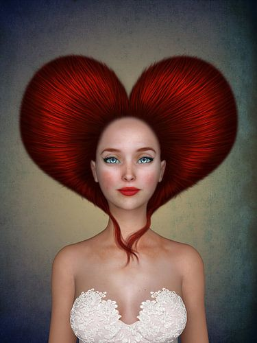 Queen of hearts van Britta Glodde