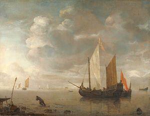 Rustige zee, Hendrick Jacobsz. Dubbels