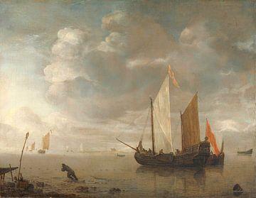 Ruhiges Meer, Hendrick Jacobsz. Dubbels