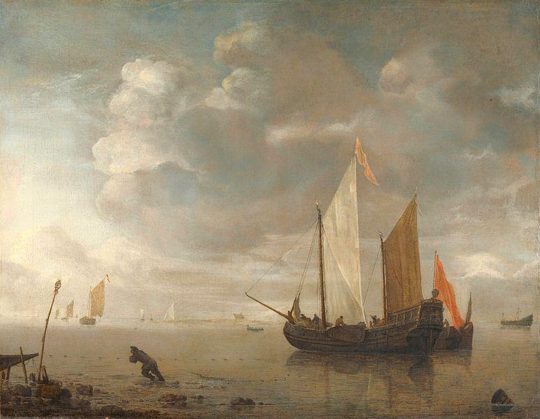 Rustige zee, Hendrick Jacobsz. Dubbels van Meesterlijcke Meesters