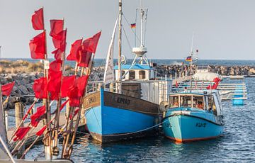 Fischerboote im Hafen von Kühlungsborn von Christian Müringer