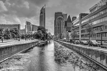 Den Haag in schwarz und weiß von Carla van Zomeren