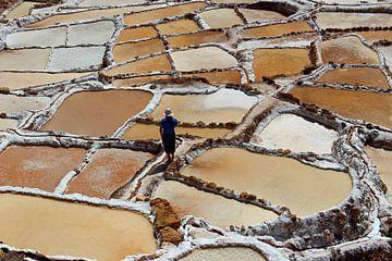 Salzbergbau Maras Peru von Marieke Funke
