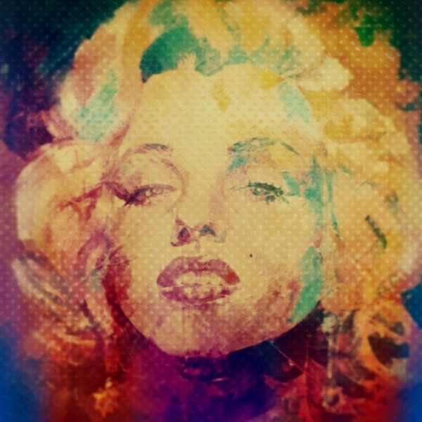 Marilyn Monroe Colourful Pop Art  van Felix von Altersheim